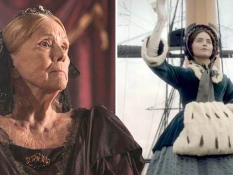 Victoria returned to ITV but it was Diane Rigg aka Lady Olenna from Game Of Thrones who stole every scene