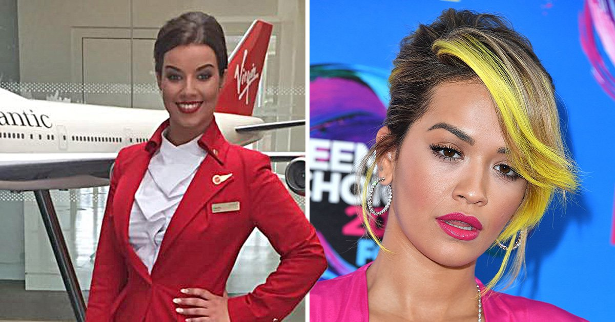 Virgin air hostess forced to quit after Facebook post about Rita Ora being on her flight
