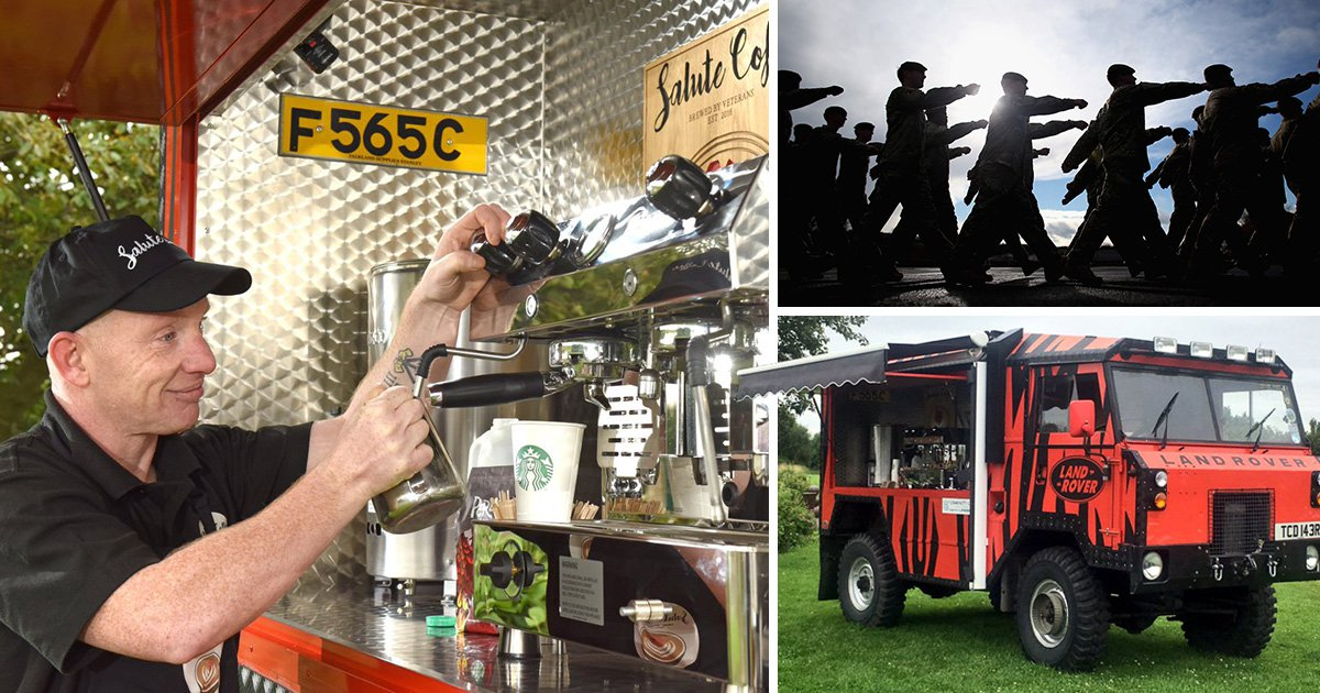 Soldiers helped back into community with amazing coffee scheme