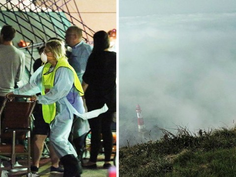 Hundreds treated in hospital after chemical 'haze' descends on Sussex coast