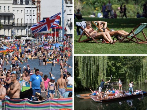 It's officially the hottest late August bank holiday for 50 years