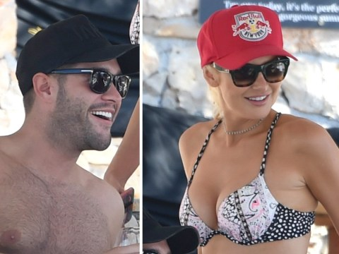 Stephanie Pratt and Jonny Mitchell pictured enjoying loved-up Croatia holiday just weeks into their romance
