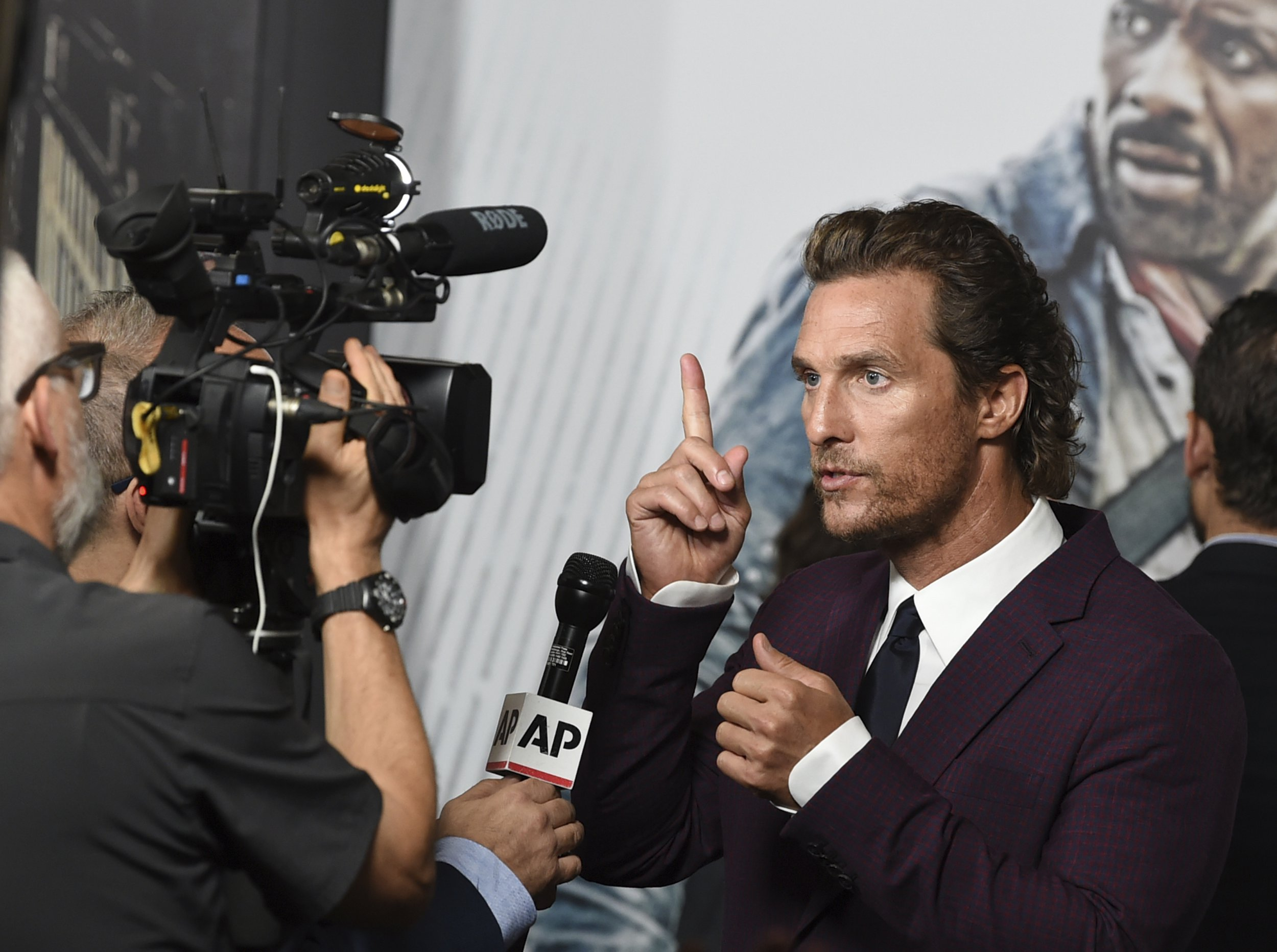 Matthew McConaughey floored after discovering death of Sam Shepard on red carpet