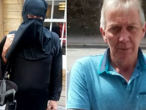 Man dressed in 'burqa' to call for burqa ban but it massively backfired