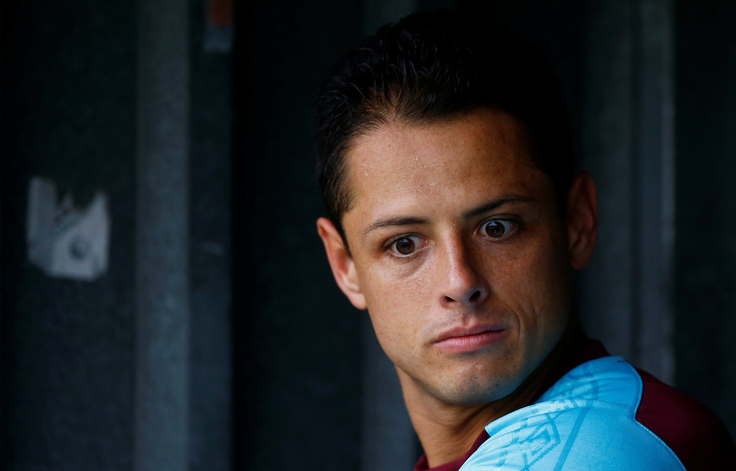 Javier Hernandez yet to decide if he will celebrate goal against Manchester United