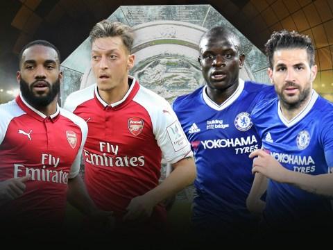 Alexandre Lacazette over Alvaro Morata: Chelsea and Arsenal Community Shield combined XI