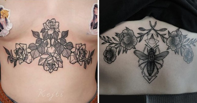 f037a917f 22 beautiful inkings that'll tempt you into wanting a sternum tattoo ...