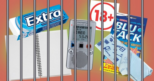 10 Things that are banned in prison
