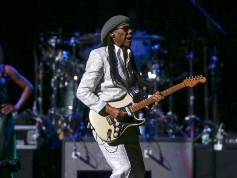 Nile Rodgers 'feels like a new man' after hospital dash which saw him miss first Chic gig ever