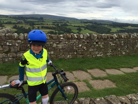 This 7-year-old just cycled 90 miles from Carlisle to Tynemouth in the Coast to Coast Challenge and we've done NOTHING this summer