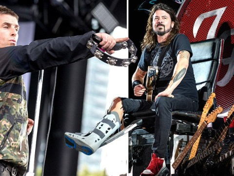 Liam Gallagher thinks Foo Fighters' Dave Grohl's professionalism has 'ruined it' for other musicians