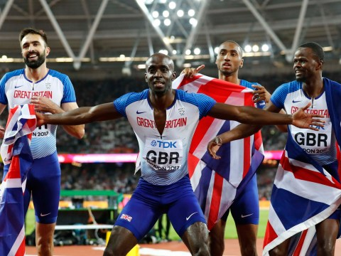 Great Britain's men's 4x400m team claim bronze to take total medal haul to six