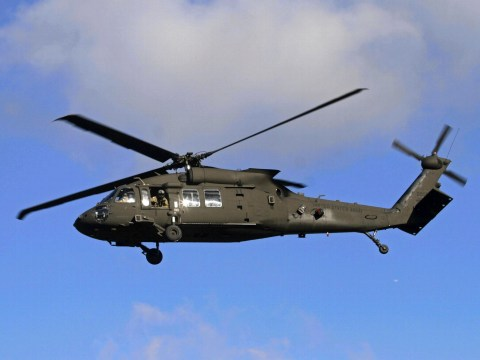 Five missing after US Army helicopter goes down during training exercise