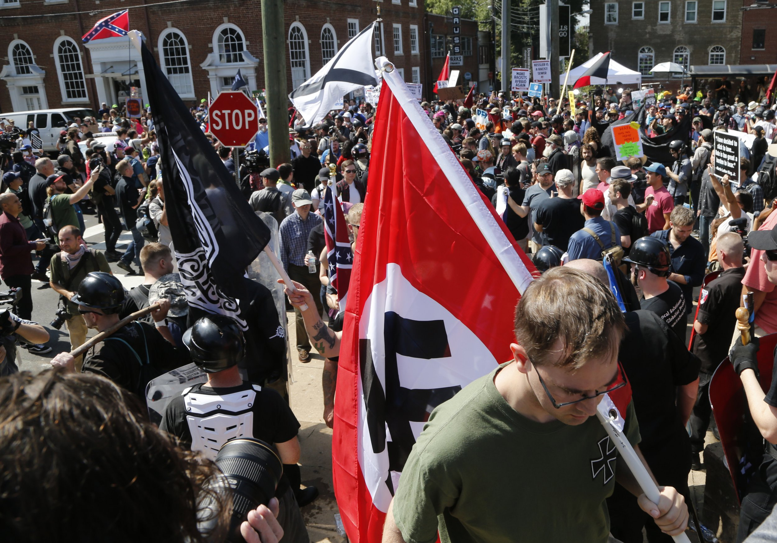 You can strongly oppose neo-Nazis and still support their right to free speech