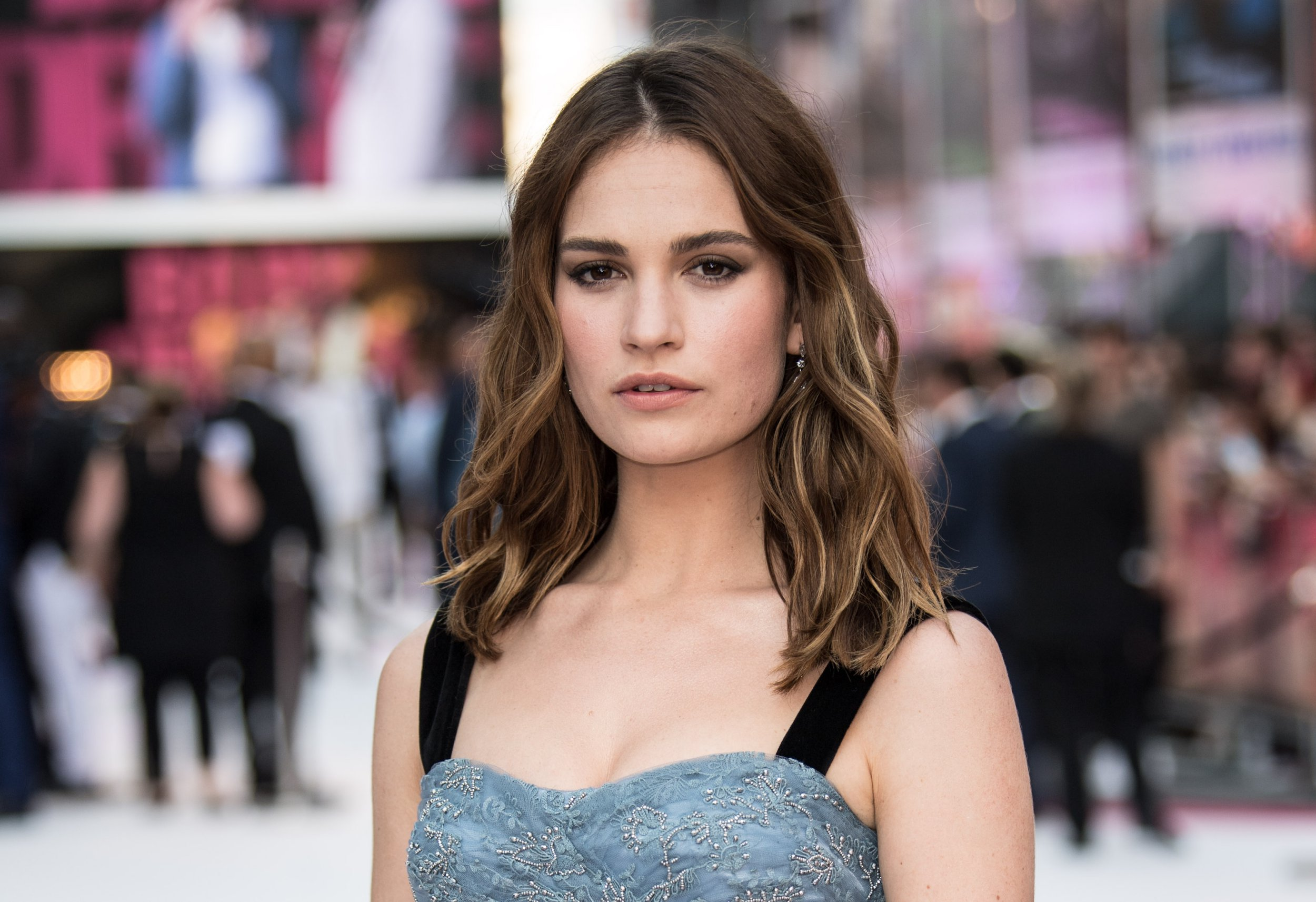 Lily James has 'bag and passport stolen' while filming Mamma Mia sequel in France