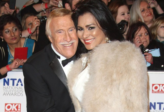 Bruce Forsyth and Wilnelia