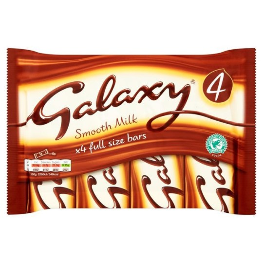 Tesco Recalls Thousands Of Packets Of Maltesers And Galaxy