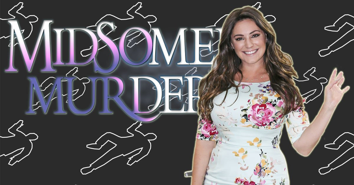 Kelly Brook lands dream role on Midsomer Murders only to be killed off