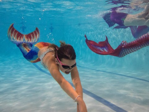 Warning over mermaid craze that could cause children to drown