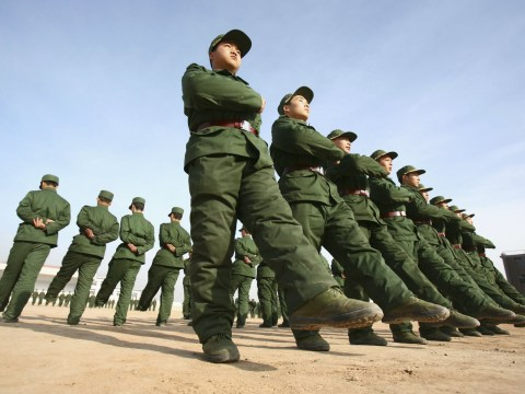 Chinese soldiers failed fitness tests because 'they are too unfit and masturbate too much'
