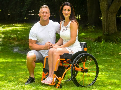 Mum claims husband of 14 years dumped her in hospital after she suffered a stroke
