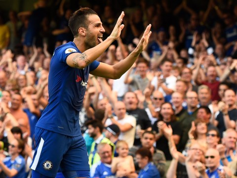 Cesc Fabregas silences Chelsea detractors with goal after replacing Tiemoue Bakayoko