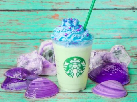 The Starbucks mermaid frappuccino is now official but you've got to travel for it