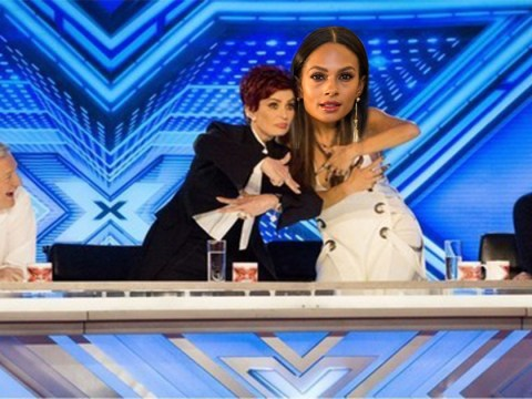X Factor's Nicole Scherzinger isn't worried about being replaced by Alesha Dixon