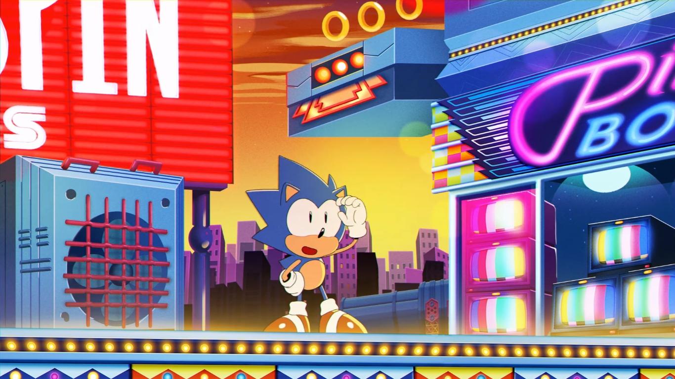 Sonic Mania - so '90s it hurts