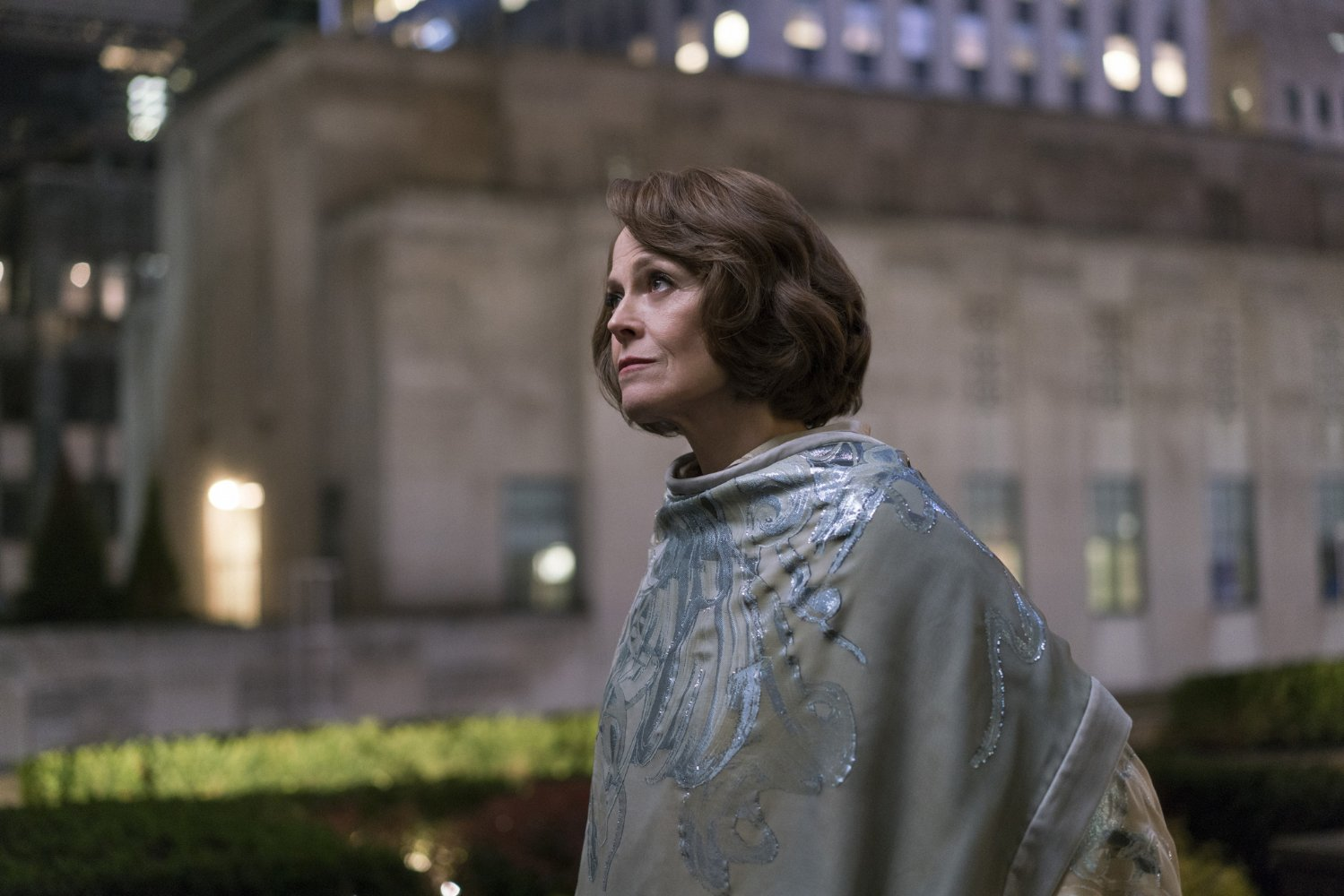 Who is Sigourney Weaver playing in The Defenders?