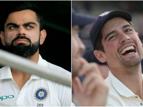 England opener Alastair Cook closes the gap on India captain Virat Kohli in ICC rankings