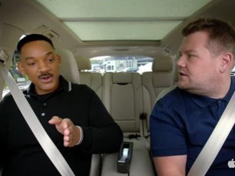 Will Smith talks playing Barack Obama in a biopic on Apple's new Carpool Karaoke
