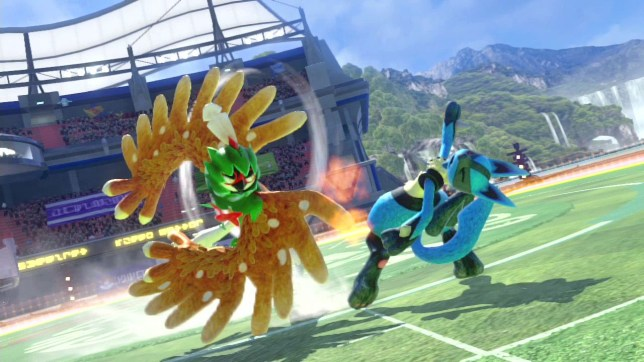 Pokkén Tournament DX (NS) - that certainly looks like a mega punch to us
