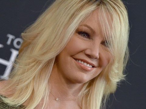 Heather Locklear hospitalised after crashing her Porsche into a ditch