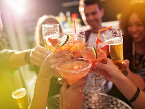 25% of us have stopped drinking with mates because they're all drunken messes