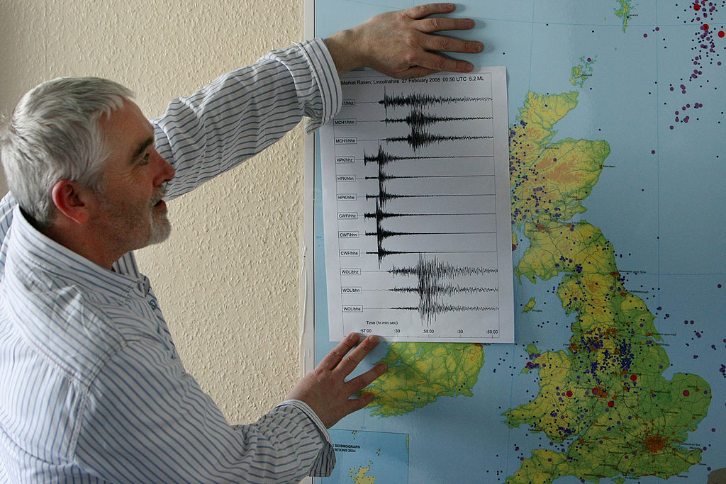 What is the strongest ever earthquake in the UK? How often do they happen?