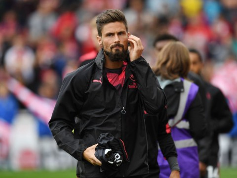 Patrice Evra 'not disappointed' Olivier Giroud rejected summer transfer to Marseille