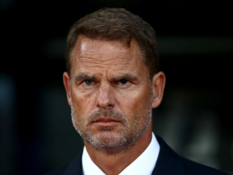 Frank de Boer sacked as Crystal Palace manager after only 77 days in charge