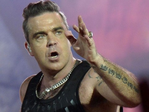 Robbie Williams cancelled tour dates due to slipped disc