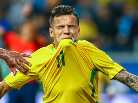Philippe Coutinho shows little sign of back injury by scoring beautiful goal for Brazil