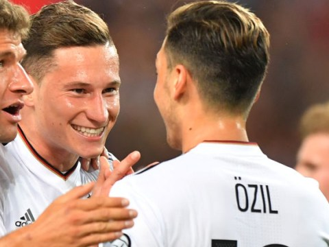 Mesut Ozil and Julian Draxler combine for Germany to show Arsenal what they could have had