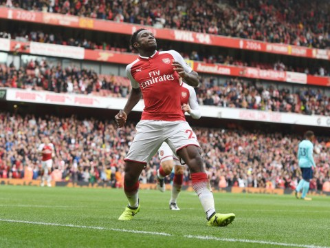 Arsene Wenger hopes Danny Welbeck will relax after scoring twice against Bournemouth