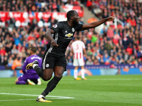 Romelu Lukaku reaches 150 club goals after scoring for Manchester United vs Stoke
