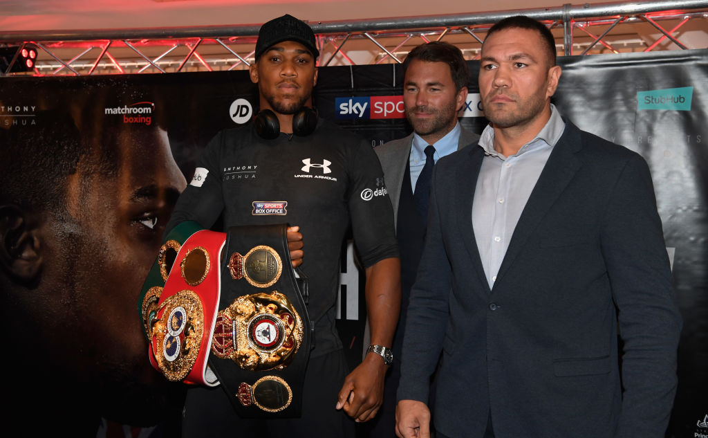 Anthony Joshua vs Kubrat Pulev fight date, TV channel, odds and undercard