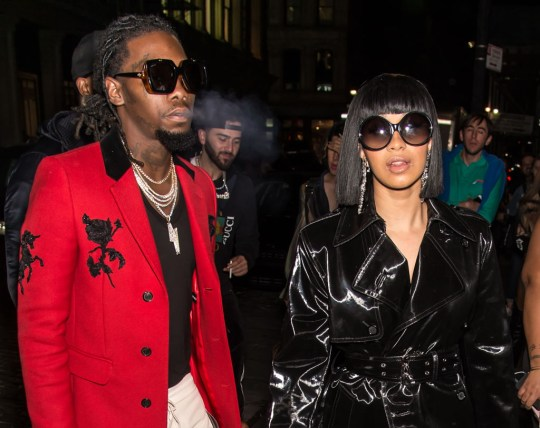 Offset S Is Still Cheating On Cardi B With Some Self: Cardi B Reveals Relationship With Offset Is Going Strong