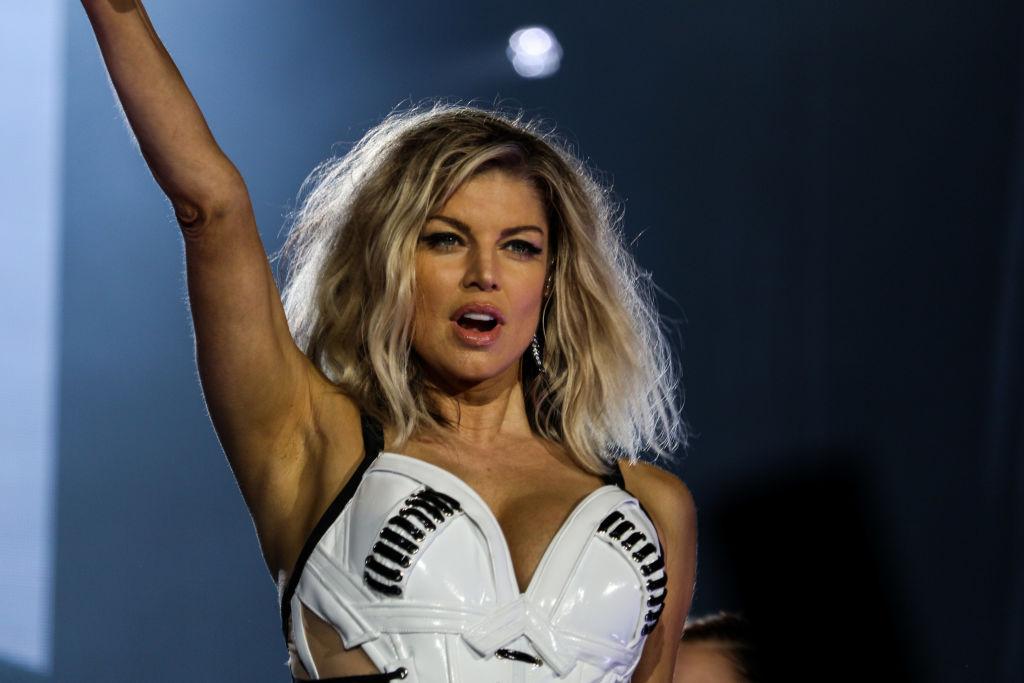 Fergie admits it was 'a little weird' pretending to still be with Josh Duhamel