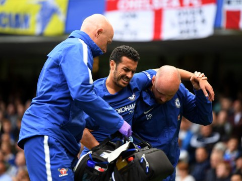 Antonio Conte provides update on Chelsea star Pedro after Arsenal injury scare