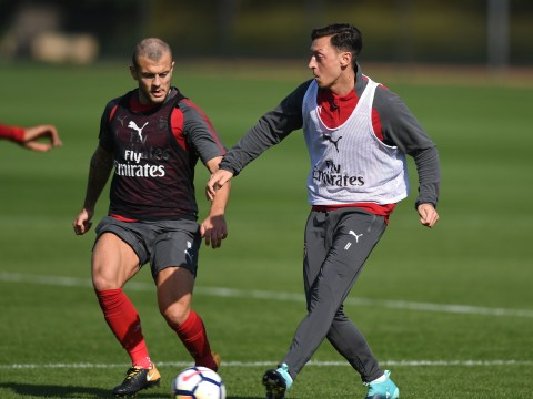 Mesut Ozil injury gives Jack Wilshere chance to shine: How Arsenal should line up without star playmaker