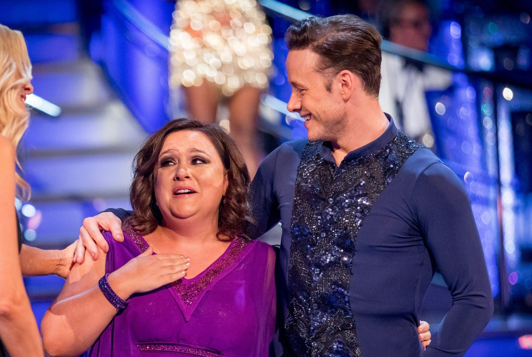 Susan Calman and Kevin Clifton to celebrate Blackpool show with matching 'I love Grimsby' tattoos