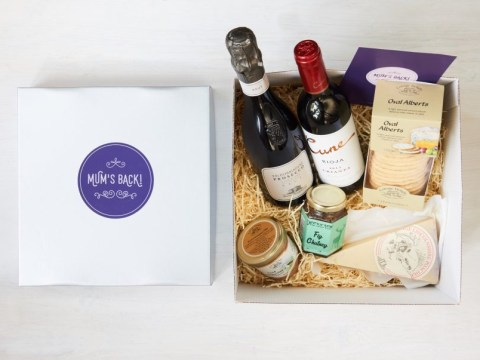 Hampers with formerly forbidden treats for new mothers are now on sale